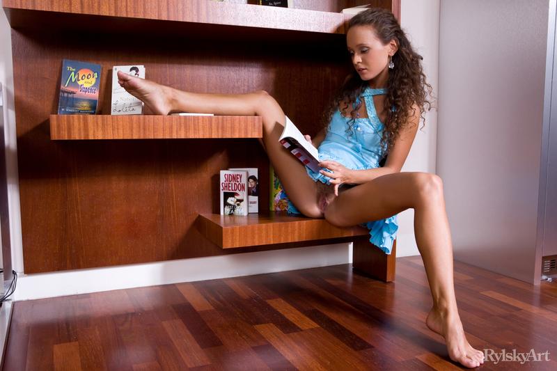 Naked girls living Naked Neighbour Presents Naked Girl Posing In The Living Room 2 16